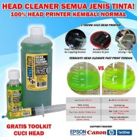 Head Cleaner Premium 20ML Pembersih Head Printer Epson Canon HP