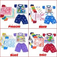 April B Baju Bayi / Setelan Baby Newborn / Pakaian Bayi Murah Lucu