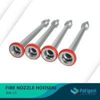 Fire hydrant nozzle hooseki 2,5 inch