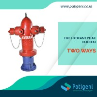 Fire Hydrant Pillar 2 Way Hooseki
