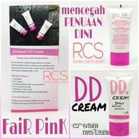 Murah ! Dd Cream Fair Pink ~ 100% Original ~ Merawat Kulit Wajah Alami