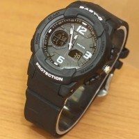 murah JAM TANGAN BABY-G WORLD RESIST BLACK RED KW SUPER