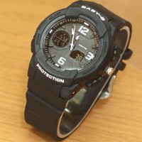 murah JAM TANGAN BABY-G WORLD RESIST BLACK KW SUPER