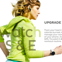 Ticwatch S Sport Smartwatch with Google Assistant & Heart Rate Monitor