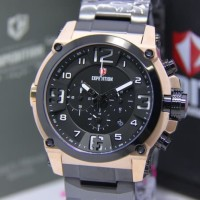 JAM TANGAN EXPEDITION 6605 PRIA SPORTY ROSEGOLD BLACK ORIGINAL