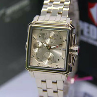 JAM TANGAN EXPEDITION 6618 WANITA FULL SOFT ROSEGOLD ORIGINAL