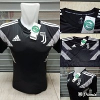 Jersey Juventus Training Prematch Black 2018/2019 grade ori official