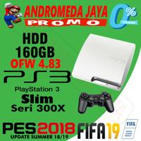 SONY PS3 PS 3 SLIM OFW 160GB PUTIH