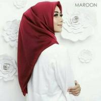PROMO Hijab Segi Empat Maxmara Lux Premium Polos