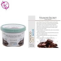 Jual Lulur Wajah BPOM Velrose Secret Nature Organic - CHOCO OAT MILK Murah