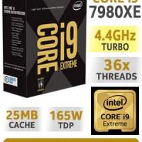 New Processor Intel Core i9 7980XE 18 Core, up to 4.20 GHz, LGA 2066