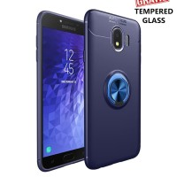 Samsung galaxy J6 iRing Invisible TPU Soft Case - Free tempered