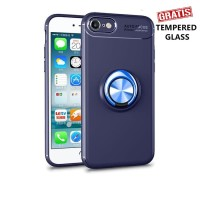 Iphone 7 / 7s iRing Invisible TPU Soft Case - Free tempered glass