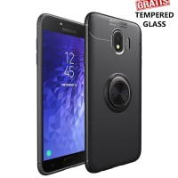 Samsung galaxy J4 iRing Invisible TPU Soft Case - Free tempered