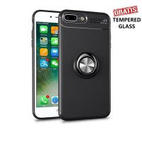Samsung galaxy A6+ iRing Invisible TPU Soft Case - Free tempered glass