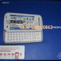 Hp Nokia C6 / Hp Nokia C6 Slide Warna Putih / Bekas / Bukan Batangan