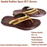 Grosir sandal Sport IKY brown