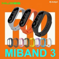 MIJOBS Mi Band 3 Color Silicone Strap Replacement Case gelang miband 3