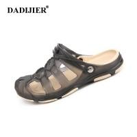 Harga 51dadijier 2018 pria sandal musim panas setengah sandal busana pria | Hargalu.com