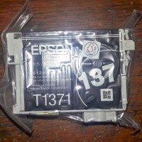 Tinta Epson 137 bawaan printer K100 K200 K300 Barang Oke