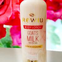 Rewiu Body Lotion Goat Milk / Lotion Susu Kambing