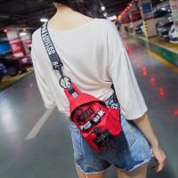 Street Style Nylon Mini Crossbody Bag
