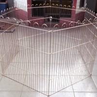 Kandang Pagar Galvanis 6 pcs 95 x 110 cm A-777