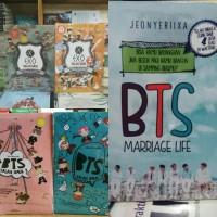 Novel 5 Buku - BTS 1 dan 2 - EXO salah gaul 1 dan 2 - BTS Mariagge
