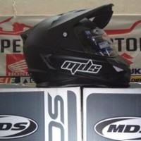 HELM MDS SUPER PRO SUPERPRO SOLID BLACK MATT