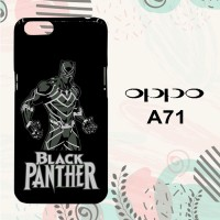 Casing OPPO A71 Custom Hardcase HP Black Panther Simple L0597