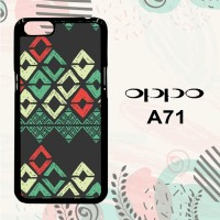 Casing OPPO A71 Custom Hardcase HP Vintage Black Background L0590