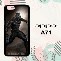Casing OPPO A71 Custom Hardcase HP Black Panther Marvel L0594