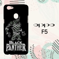 Casing OPPO F5 Custom Hardcase HP Black Panther Simple L0597