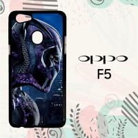 Casing OPPO F5 Custom Hardcase HP Black Panther Marvel 2 L0595