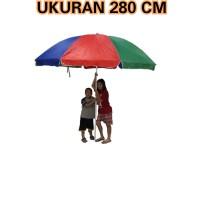 """Payung Tenda / Cafe / Payung Pantai Parasol Pelangi 280 cm (56"""")"""