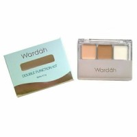 ORIGINAL Wardah Double Function Kit Eye Shadow Sekaligus Concealer L