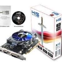 Terbaik Terbaru Vga/Gpu His Radeon Hd 6570/Hd6570 2Gb/2 Gb Ddr5 128