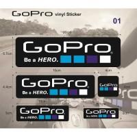 Sticker/ Stiker Gopro Set Helm/ Visor Motor Agv Kyt Ink Arai Cbr Ninja