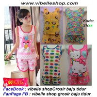 Harga shxxx vibelle shop grosir baju tidur piyama baby doll daster | antitipu.com