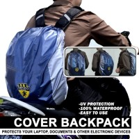 Cover Tas Pelindung Tas Backpack Rain Cover Bag Waterproof Emporio 30