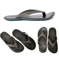 Sandal Kulit Geox Model Jepit Pria Wanita Sandal Santay segala acara