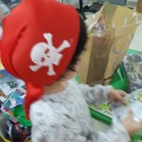 Topi Bajak laut Pirates Merah