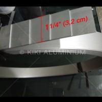 "Plat Strip Aluminium 1 1/4"" (3,2 cm) SUPEREX, Tbl. 1 mm, Pjg. 6 meter"