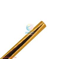 Kertas Metalik Warna (Kuning Gold) Mengkilap Bungkus Kado Metallic