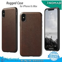 Nomad iPhone Xs Max Rugged Case BROWN Horween Leather ORIGINAL