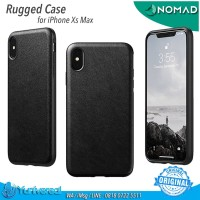 Nomad iPhone Xs Max Rugged Case BLACK Horween Leather ORIGINAL