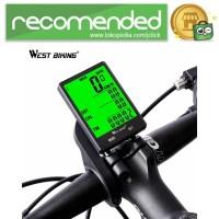 West Biking Speedometer Sepeda LCD 2.8 Inch Waterproof - B2-1-20 - Hi