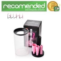 GUJHUI Pembersih Kuas Makeup Elektrik Brush Cleaner - Hitam