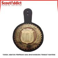 Tanda jabatan Pramuka Pimpinan Saka Bhayangkara Ranting