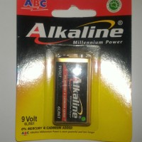 Baterai Alkaline 9V Kotak Murah